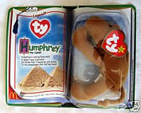 Mcdonalds Humphrey the Camel Teenie Beanie Babies 2000 by Ty