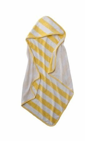 Circo Baby Knit Stripe Hooded Towel - Yellow