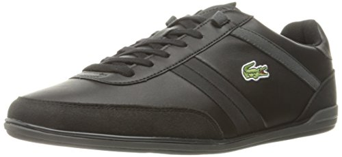 Lacoste Men's Giron 316 1 Spm Fashion Sneaker, Black, 9.5 M US