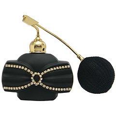 ブラック クリスタルアトマイザー フランス製 ブラッククリスタル香水瓶 660150