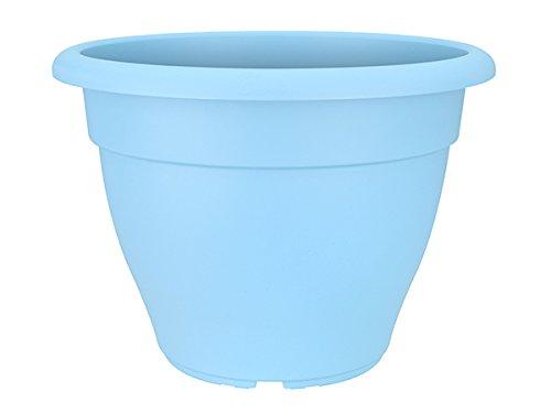 Elho 2055073 Torino Campana Vaso di fiori blu 30 x 30 x 22 cm