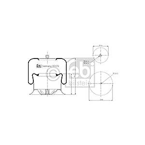 Febi Bilstein 35679 Boot, air suspension