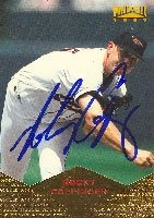 Rocky Coppinger Baltimore Orioles 1997 Pinnacle Autographed Hand Signed Trading Card... by Hall of Fame Memorabilia