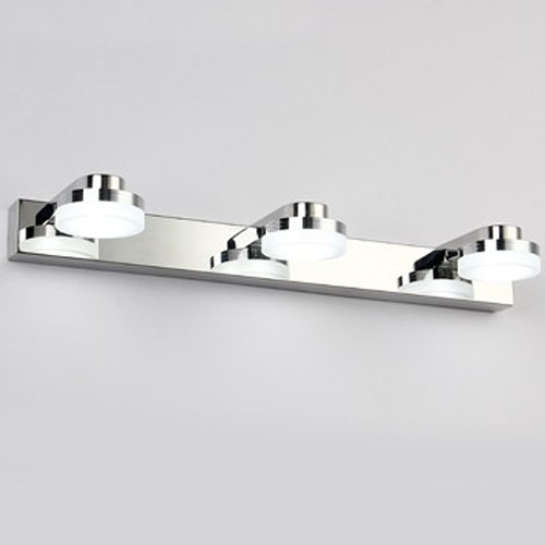 2 goodia led light mirror blanc froid clairage de lampe for Lampe de salle de bain