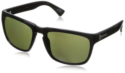 Electric Knoxville Wayfarer Polarized Sunglasses,Gloss Black,164 Mm