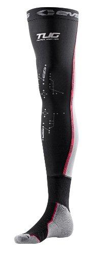 EVS Sports Fusion Socks Combo (Black, Small/Medium)