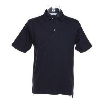 Kustom Kit Mens Augusta Premium Short Sleeve Polo Shirt (S) (Navy Blue)