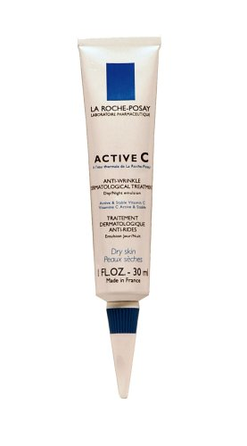 La Roche-Posay Active C Anti-Wrinkle Dermatological Treatment for Dry Skin 1 Fluid Ounce