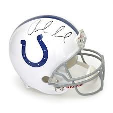 Andrew Luck Indianapolis Colts Rookie Signed Autographed Full Size Replica Helmet...
