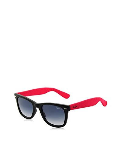 Pepe Jeans Sonnenbrille Pj7167C1252 (52 mm) schwarz/erdbeere