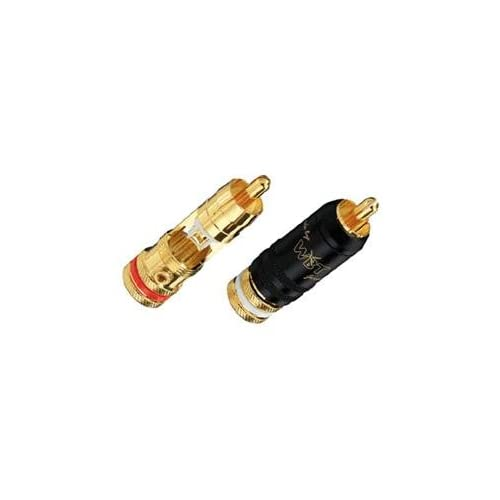 WBT-0147-KIT, Set of 4 WBT-0147 Midline RCA plugs, WBT? solder, Torx