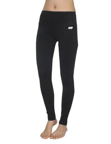 Marika Womens Professional Sports Skinny Leggings / Yoga Pants L Black