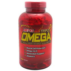 MET-Rx Triple Omega - 240 Capsules
