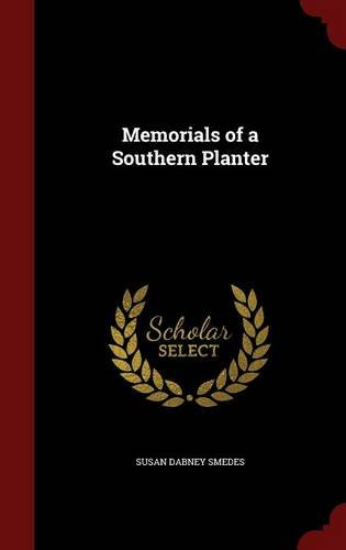 Memorials of a Southern Planter