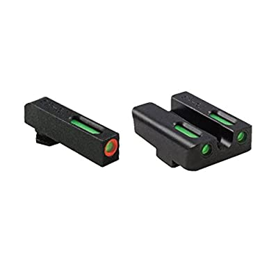 Truglo Brite-Site TFX Pro, Sight, Fits Springfield XD/XDM/XDS, Tritium/Fiber-Optic, Day/Night Sight, 24/7 Brightness, Or from TruGlo