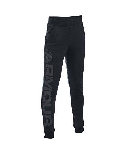 Under Armour Boys' Titan Fleece Jogger, Black (001), Youth X-Large