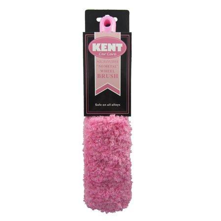 Kent Car Care Microfibre No Metal Wheel Brush - Pink