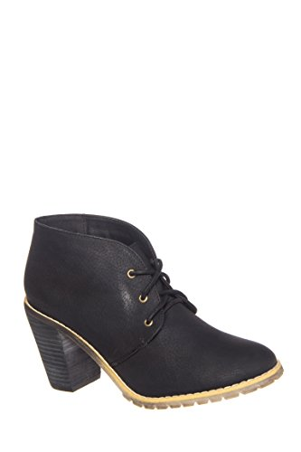 Petal High Heel Ankle Rise Bootie