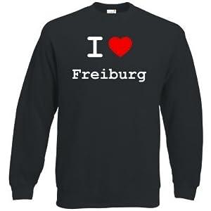 getshirts - Best of - Sweatshirt - love - I love Freiburg