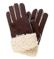 M&S Collection Shearling Faux Fur Gloves