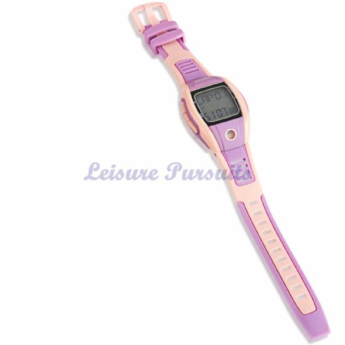 FITNESS PULSE HEART RATE MONITOR SPORT RUNNING WATCH PINK