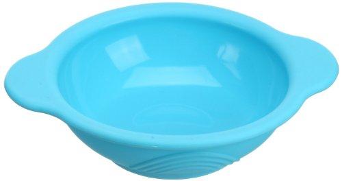 Lexnfant Silicone Baby Round Bowl (Blue)