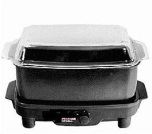 Magic Mill 9qt Slow Cooker Crock Pot 220 Volt