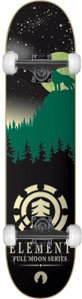 Element Full Moon Complete Skateboard - 8.25 Green w/Essential Trucks