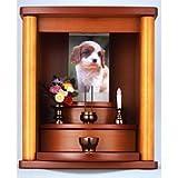 ペットの仏壇 お墓よりペット仏壇で供養 小型仏壇 動物仏壇