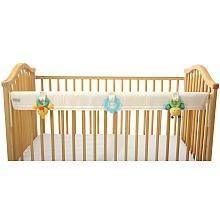 Leachco Organic Easy Teether - Crib Rail Cover - Ivory