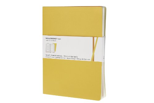 Moleskine Ruled Volant Notebook Extra Large Golden