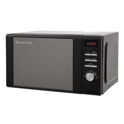 Russell Hobbs RHM2064MB Digital Microwave, 20 Litre - Matt Black