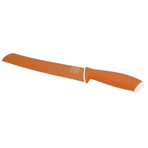 Chicago Cutlery Vivid 8-Inch/20.3cm Bread Knife, Orange (Bread Knife Chicago compare prices)