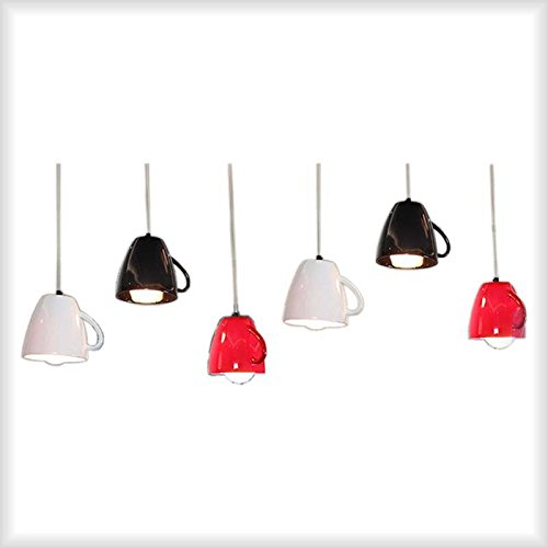 YanCui@ Personalized fashion creative teapot chandeliers, restaurant dining table bar chandeliers,black