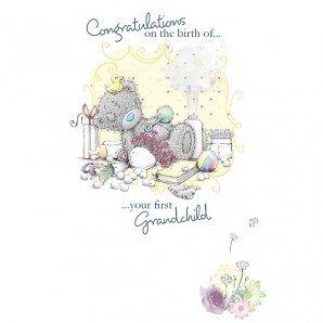 Biglietti d'auguri per nascita, Birth Of First Grandchild orsetti Me To You
