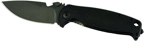 DPx Gear Hest Folder Triple Black Knife