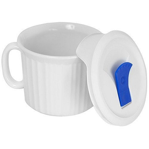 CorningWare 1035985 French White 20-Ounce Mug