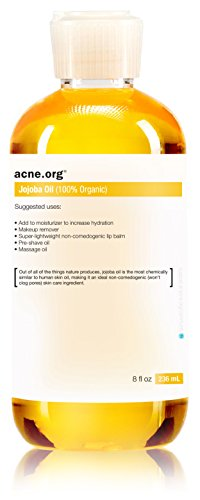 Acne.org 8 oz. Organic Jojoba Oil