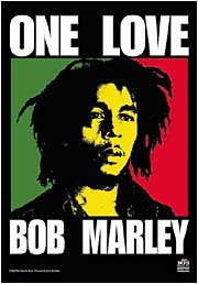 Bob Marley - One Love Textile Poster Flag