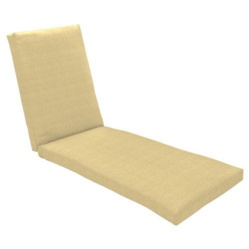 Strathwood Camano All-Weather Wicker Sun Lounge Cushion, Neutral image