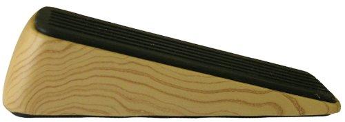 Shepherd Hardware 9333 Designer Door Wedge, Woodgrain, Non-Skid Rubber Base Grip