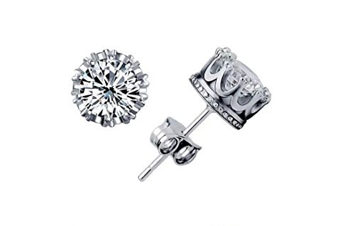 sterling-silver-swarovski-elements-sparkling-diamond-stud-earrings