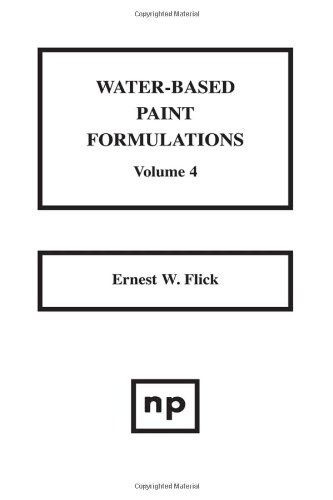 Water-Based Paint Formulations, Volume 3