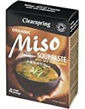 Clearspring Organic Miso Instant Soup Paste 4 x 15g (8 Pack)