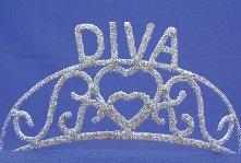 Elope Diva Sparkle Tiara Costume