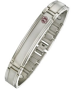 Men's Titanium Magnetic Medical Bracelet
