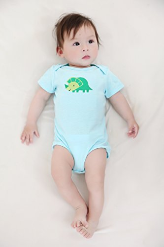 Mother Nest Baby Bodysuit Onesies Clothes Boys 5 Pack(BBT049-3M)