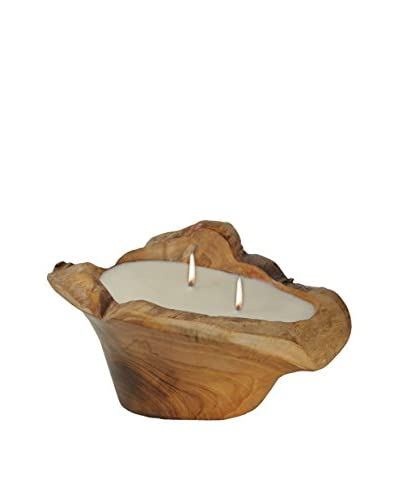 Volcanica Bowl Teakwood Candle