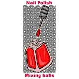 """100 Stainless Steel Mixing Balls for Nail Polish 1/8"""""""