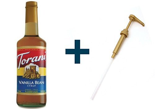 Torani Vanilla Bean & Syrup Pump (Vanilla Syrup For Soda Pump compare prices)